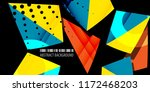 abstract colorful background... | Shutterstock .eps vector #1172468203