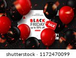 black friday sale background... | Shutterstock .eps vector #1172470099
