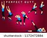 fitness motivation quote...   Shutterstock . vector #1172472886