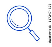 magnifying glass icon | Shutterstock .eps vector #1172474926