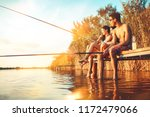 group of friends sitting on... | Shutterstock . vector #1172479066