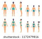 full length height people... | Shutterstock .eps vector #1172479816