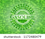 gasoline realistic green mosaic ... | Shutterstock .eps vector #1172480479