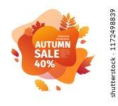 template design discount banner ... | Shutterstock .eps vector #1172498839