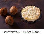 homemade delicious coconut... | Shutterstock . vector #1172516503