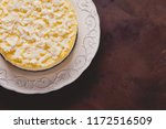 homemade delicious coconut... | Shutterstock . vector #1172516509