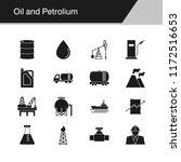 oil and petrolium icons. design ... | Shutterstock .eps vector #1172516653