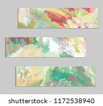 abstract cover template with... | Shutterstock .eps vector #1172538940