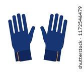 gloves for diving  surfing ... | Shutterstock .eps vector #1172546479
