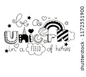 lettering be a unicorn in a...   Shutterstock .eps vector #1172551900