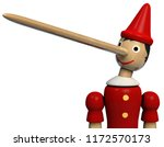 Pinocchio Long Nose Character...