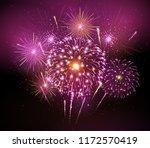 vector holiday festival pink... | Shutterstock .eps vector #1172570419