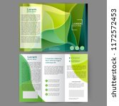 color tri fold business... | Shutterstock .eps vector #1172572453
