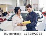 car service center scene. the... | Shutterstock . vector #1172592733