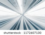 motion blur of train moving... | Shutterstock . vector #1172607130