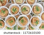 many cheap noodles.uncooked... | Shutterstock . vector #1172610100
