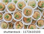 many cheap noodles.uncooked... | Shutterstock . vector #1172610103