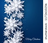 vector merry christmas and... | Shutterstock .eps vector #1172610256