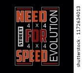 evolution typography vector... | Shutterstock .eps vector #1172634013