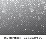 snow and snowflakes background. ... | Shutterstock .eps vector #1172639530