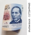 Mexican Banknote Of 500 Pesos ...