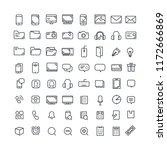 vector illustration. set of 64...