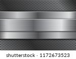 metal background with... | Shutterstock .eps vector #1172673523