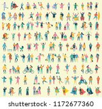 vector illustration in a flat... | Shutterstock .eps vector #1172677360