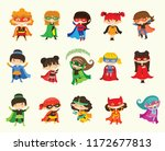 cartoon vector illustration of... | Shutterstock .eps vector #1172677813