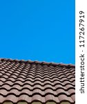 roof tile portrait view... | Shutterstock . vector #117267919