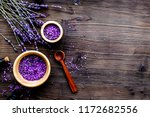 organic cosmetics with lavender ... | Shutterstock . vector #1172682556