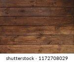 brown wooden plank desk table...   Shutterstock . vector #1172708029