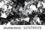 halftone grunge vector seamless ... | Shutterstock .eps vector #1172735173