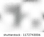 abstract halftone wave dotted... | Shutterstock .eps vector #1172743006