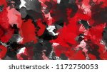 red and black abstract... | Shutterstock .eps vector #1172750053