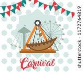 carnival festival cartoons | Shutterstock .eps vector #1172764819