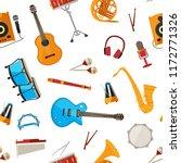 vector cartoon musical...   Shutterstock .eps vector #1172771326