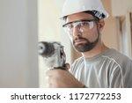 professional construction... | Shutterstock . vector #1172772253