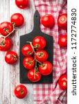 tomatoes branches overhead... | Shutterstock . vector #1172774830