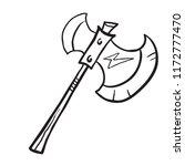 axe cartoon illustration...   Shutterstock .eps vector #1172777470