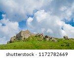 st. ives  england    june 2018  ... | Shutterstock . vector #1172782669