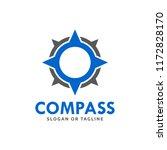 compass logo design concept... | Shutterstock .eps vector #1172828170