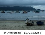 boats on the beach | Shutterstock . vector #1172832256