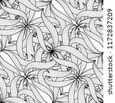 intricate floral braided vector ... | Shutterstock .eps vector #1172837209