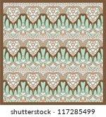ornamental pattern for paisley | Shutterstock .eps vector #117285499
