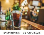 restaurants and iced coffee | Shutterstock . vector #1172905126