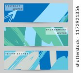 abstract art painting banners... | Shutterstock .eps vector #1172921356