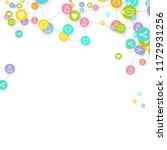 social media marketing ... | Shutterstock .eps vector #1172931256