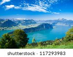 Beautiful View To Lucerne Lake  ...