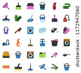 colored vector icon set  ...   Shutterstock .eps vector #1172947060
